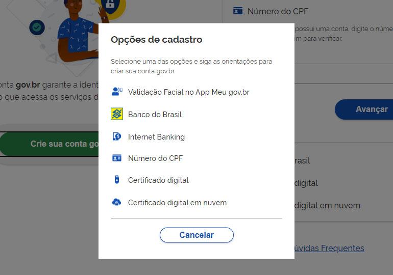 Como Fazer uma Conta no gov.br