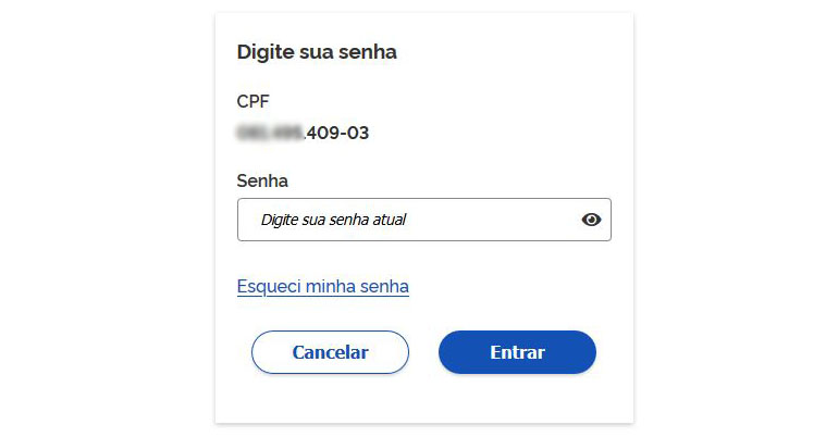 Login no gov.br